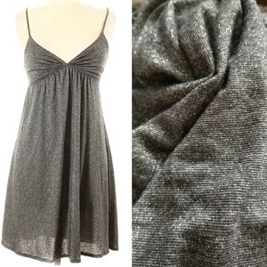 🆑Anthro O/S, Michael Stars Glittery Silver Dress